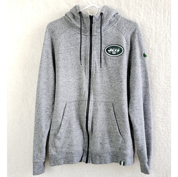 Wholesale Nike Sweaters | New York Jets Nfl Full Zip Up Hoodie Jacket | Poshmark  for sale